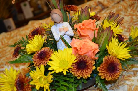 Fresh Pumpkin Arrangement Flowers In A Patch Sherman S And Corn